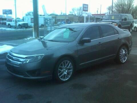 2012 Ford Fusion for sale at University Auto Sales Inc in Pocatello ID