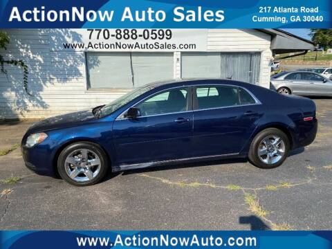 2010 Chevrolet Malibu for sale at ACTION NOW AUTO SALES in Cumming GA