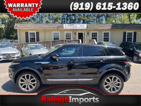 2013 Land Rover Range Rover Evoque for sale at Raleigh Imports in Raleigh NC