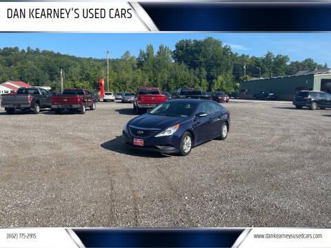 2014 Hyundai Sonata for sale at DAN KEARNEY'S USED CARS in Center Rutland VT