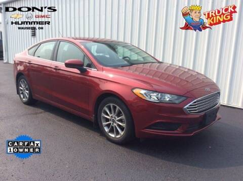 2017 Ford Fusion for sale at DON'S CHEVY, BUICK-GMC & CADILLAC in Wauseon OH