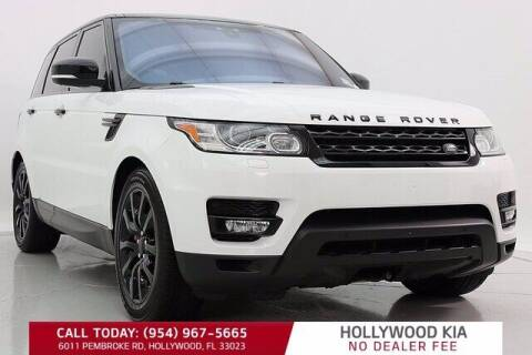 2017 Land Rover Range Rover Sport for sale at JumboAutoGroup.com in Hollywood FL