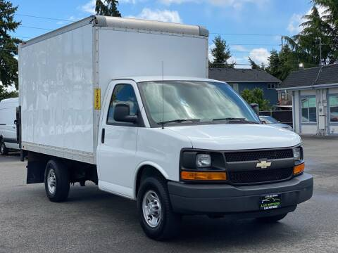 2016 Chevrolet Express 3500 BOX TRUCK CARGO for sale at Lux Motors in Tacoma WA