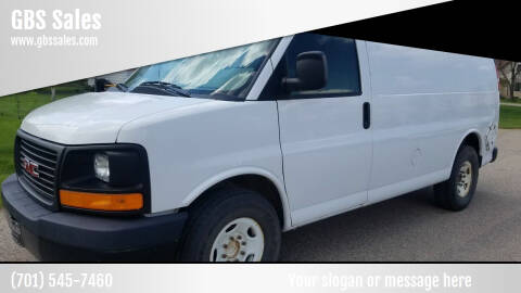 2012 GMC Savana Cargo for sale at GBS Sales in Great Bend ND