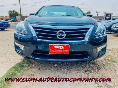 2013 Nissan Altima for sale at MAGNA CUM LAUDE AUTO COMPANY in Lubbock TX