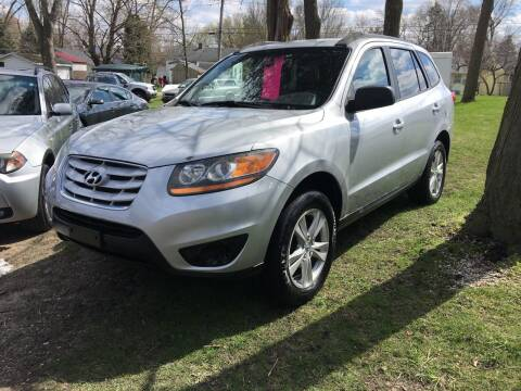 2010 Hyundai Santa Fe for sale at Antique Motors in Plymouth IN