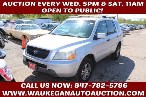 2005 Honda Pilot for sale at Waukegan Auto Auction in Waukegan IL