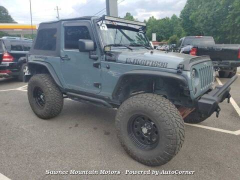 2015 Jeep Wrangler for sale at Michael D Stout in Cumming GA