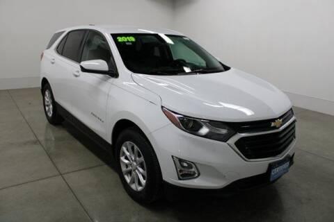 2019 Chevrolet Equinox for sale at Bob Clapper Automotive, Inc in Janesville WI