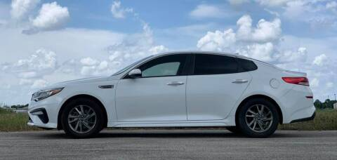 2019 Kia Optima for sale at Palmer Auto Sales in Rosenberg TX