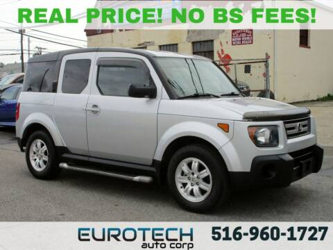 2007 Honda Element for sale at EUROTECH AUTO CORP in Island Park NY