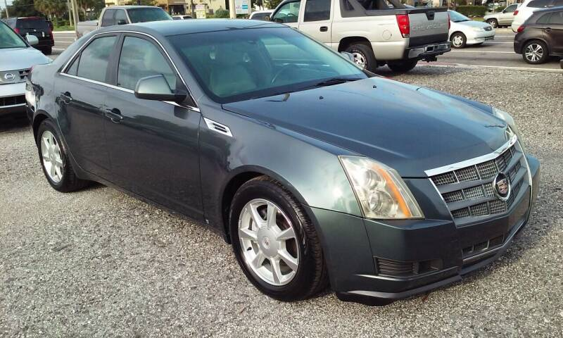 2009 Cadillac CTS for sale at Pinellas Auto Brokers in Saint Petersburg FL