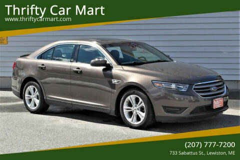 2015 Ford Taurus for sale at Thrifty Car Mart in Lewiston ME