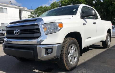 2014 Toyota Tundra for sale at Meru Motors in Hollywood FL