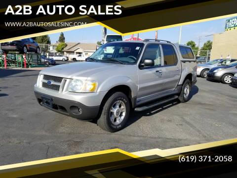 2004 Ford Explorer Sport Trac for sale at A2B AUTO SALES in Chula Vista CA