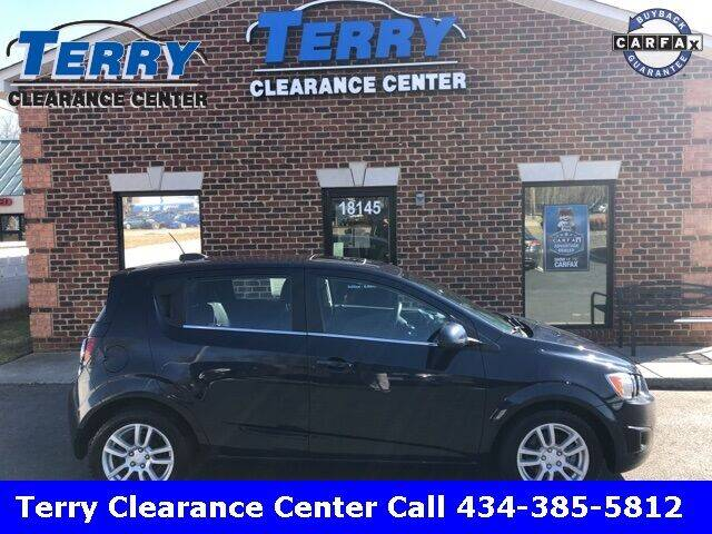 2015 Chevrolet Sonic for sale at Terry Clearance Center in Lynchburg VA