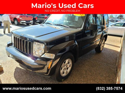 2012 Jeep Liberty for sale at Mario's Used Cars - South Houston Location in South Houston TX