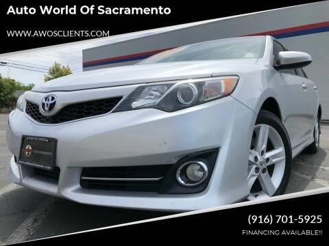 2014 Toyota Camry for sale at Auto World of Sacramento Stockton Blvd in Sacramento CA