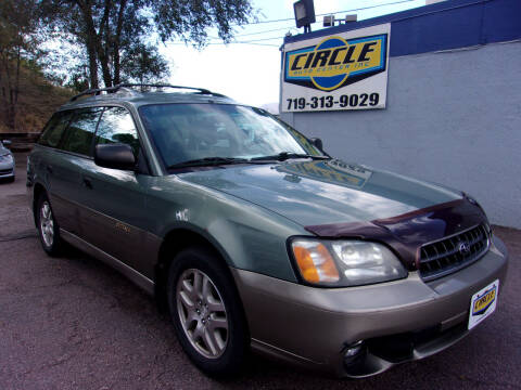 2003 Subaru Outback for sale at Circle Auto Center in Colorado Springs CO