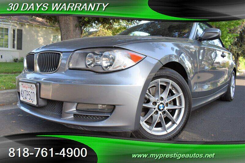 2011 BMW 1 Series for sale at Prestige Auto Sports Inc in North Hollywood CA