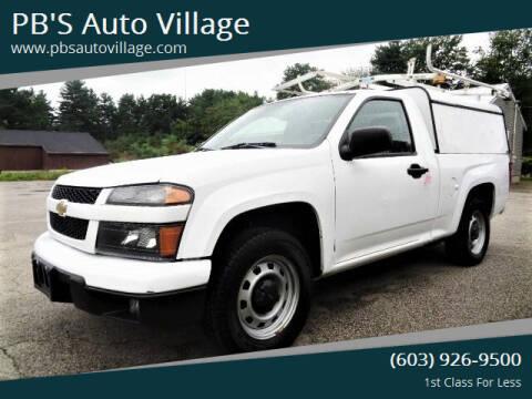 2012 Chevrolet Colorado for sale at PB'S Auto Village in Hampton Falls NH