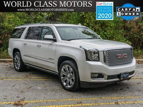 2016 GMC Yukon XL for sale at World Class Motors LLC in Noblesville IN