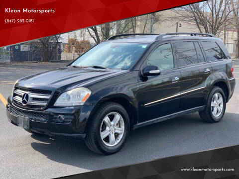 2007 Mercedes-Benz GL-Class for sale at Klean Motorsports in Skokie IL