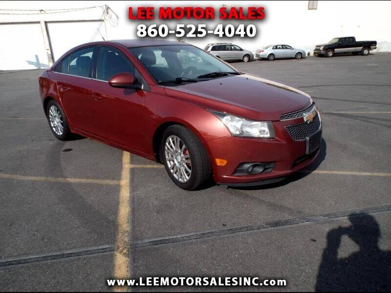 2012 Chevrolet Cruze for sale at Lee Motor Sales Inc. in Hartford CT