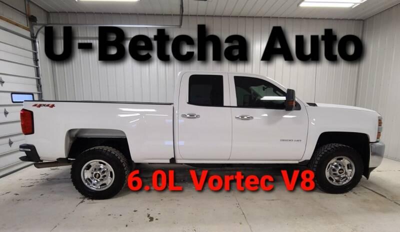 2018 Chevrolet Silverado 2500HD for sale at Ubetcha Auto in St. Paul NE
