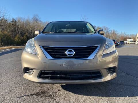2012 Nissan Versa for sale at Dulles Cars in Sterling VA