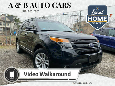 2014 Ford Explorer for sale at A & B Auto Cars in Newark NJ