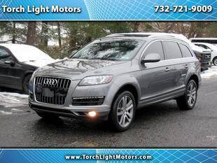 2014 Audi Q7 for sale at Torch Light Motors in Parlin NJ