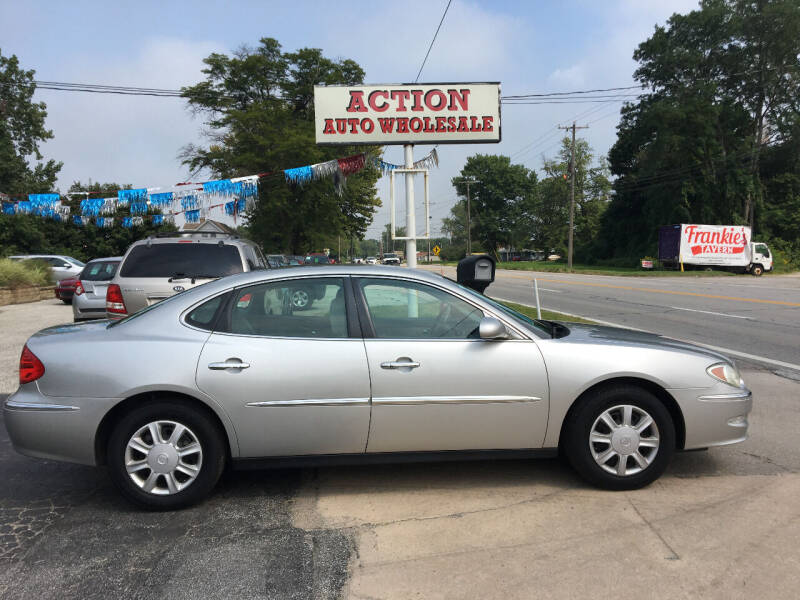 2008 Buick LaCrosse for sale at Action Auto Wholesale in Painesville OH
