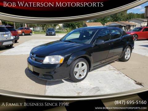 2013 Dodge Avenger for sale at Bob Waterson Motorsports in South Elgin IL
