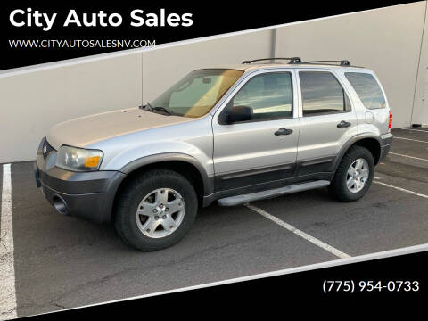 2006 Ford Escape for sale at City Auto Sales in Sparks NV
