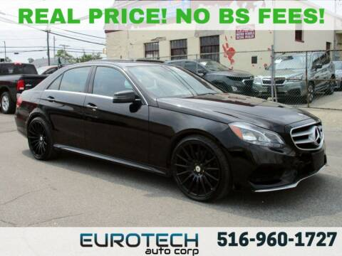2016 Mercedes-Benz E-Class for sale at EUROTECH AUTO CORP in Island Park NY