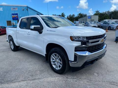 2020 Chevrolet Silverado 1500 for sale at DELRAY AUTO MALL in Delray Beach FL