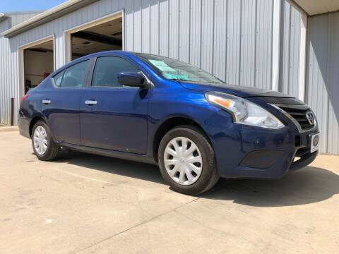 2019 Nissan Versa for sale at BERG AUTO MALL & TRUCKING INC in Beresford SD