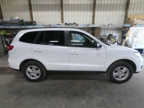 2010 Hyundai Santa Fe for sale at Alpha Auto - Mitchell in Mitchel SD