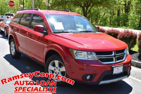 2012 Dodge Journey for sale at Ramsey Corp. in West Milford NJ