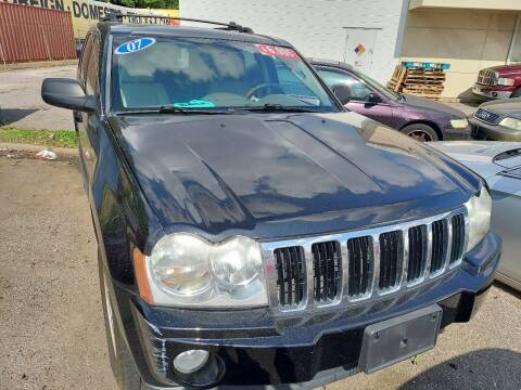 2007 Jeep Grand Cherokee for sale at HW Auto Wholesale in Norfolk VA
