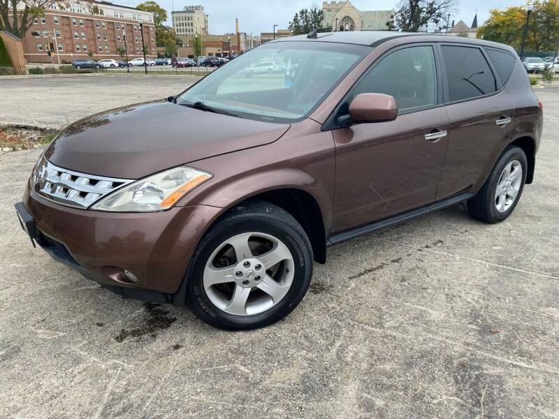 2003 Nissan Murano for sale at Your Car Source in Kenosha WI