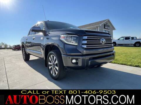 2019 Toyota Tundra for sale at Auto Boss in Woods Cross UT