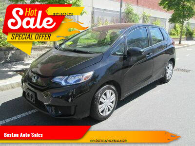 2017 Honda Fit for sale at Boston Auto Sales in Brighton MA