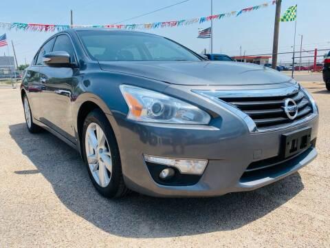 2015 Nissan Altima for sale at California Auto Sales in Amarillo TX