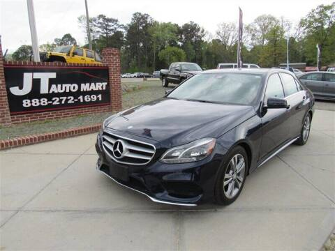 2016 Mercedes-Benz E-Class for sale at J T Auto Group in Sanford NC
