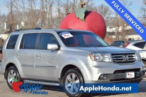 2015 Honda Pilot for sale at APPLE HONDA in Riverhead NY
