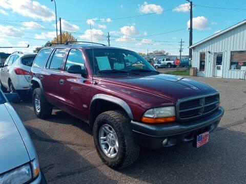2002 Dodge Durango for sale at L & J Motors in Mandan ND