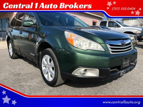 2012 Subaru Outback for sale at Central 1 Auto Brokers in Virginia Beach VA