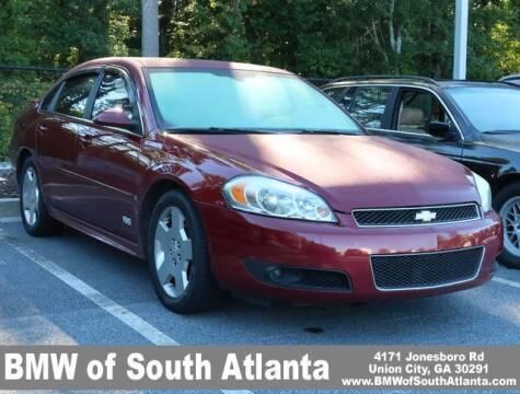 2009 Chevrolet Impala for sale at Carol Benner @ BMW of South Atlanta in Union City GA
